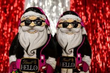 HoHoHo Santa Claus Virtual Run registration logo