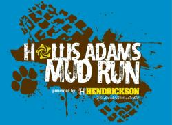 Hollis Adams Mud Run registration logo