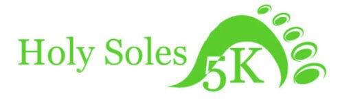 Holy Soles 5k registration logo