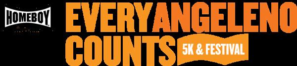 Homeboy Industries' Every Angeleno Counts 5k & Festival 2015 registration logo