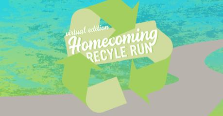 Homecoming Recycle Run registration logo