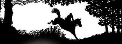 Honey Tree Stables Haunted Trail Run registration logo