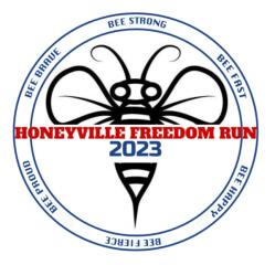 Honeyville Freedom Run registration logo