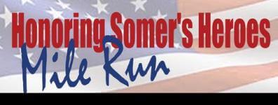 Honoring Somers Heroes Mile Run registration logo