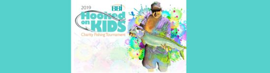 Hooked on Kids Fishing Tournament registration logo