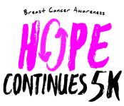 Hope Continues 5K and 1 Mile Walk registration logo