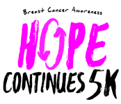 Hope Continues 5K and 1 Mile Walk registration logo