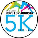 Hope for Augusta 5K & Family Fun Run registration logo