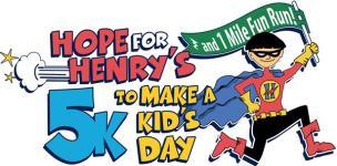 Hope for Henry's 5K & 1-Mile Fun Run registration logo