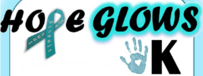 Hope Glows 5K registration logo