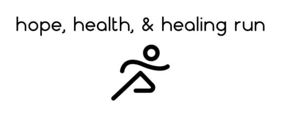 Hope, Health, & Healing Run registration logo