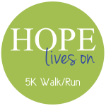HOPE Lives On 5K Walk/Run registration logo