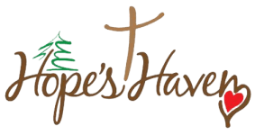 Hope's Haven 5k Run/ Walk registration logo