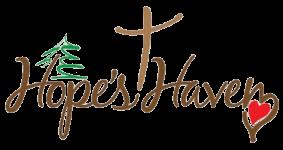 Hope's Haven 5k Run/ Walk registration logo
