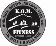 HORRIBLE, ROTTEN, NO GOOD, VERY BAD 5K HILL CHALLENGE registration logo