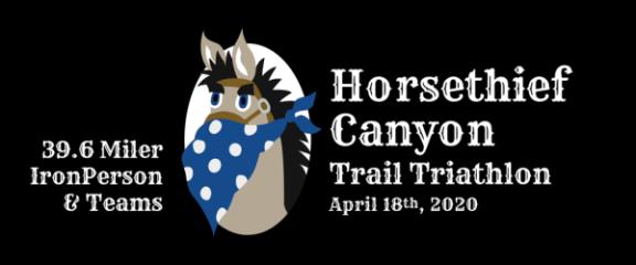 Horsethief Canyon Trail Triathlon registration logo
