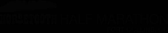 Horsetooth Half Marathon registration logo