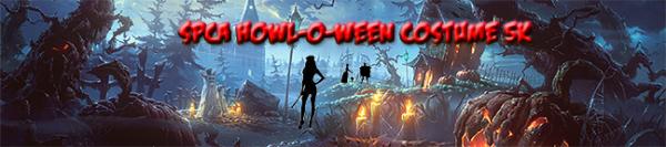 Howl-o-ween Costume 5K registration logo