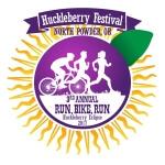 Huckleberry Festival Run/Walk And Duathlon registration logo
