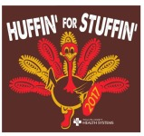 Huffin' for Stuffin' registration logo