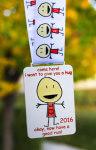 Hug A Runner 5K registration logo