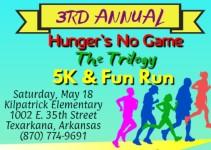 Hunger's No Game 5K/Fun Run registration logo