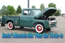 Hunter's Mtn Ride Poker Run & Cruise In registration logo