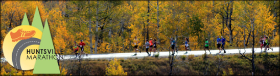 Huntsville Utah Marathon  The Full Monte registration logo