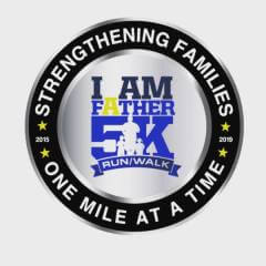 I Am a Father 5K Virtual Run/Walk and 10 Mile Bike registration logo