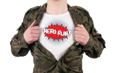 Be a Hero registration logo