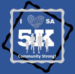 I Heart SA 5K registration logo