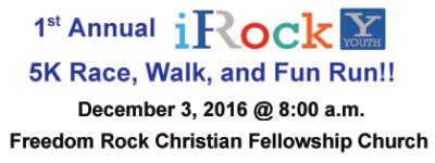 i Rock 5K registration logo