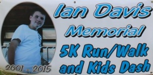 Ian Davis Memorial 5K Run/Walk and Kids Dash registration logo