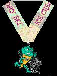 Ice Cream Day 5K  registration logo