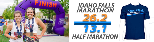 Idaho Falls Marathon & Half registration logo