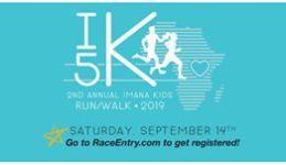 Imana Kids Second Annual Run For Love registration logo