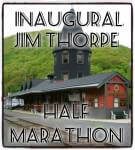 Inaugural Jim Thorpe Half Marathon and 5k registration logo