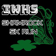 Incarnate Word High School Shamrock 5k Run registration logo