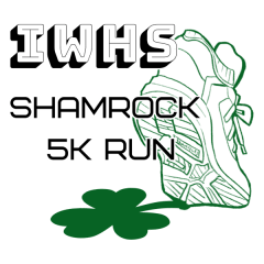 Incarnate Word High School Shamrock 5k Run registration logo