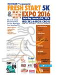 Inderkum PTSA Fresh Start 5K and Health Fitness Beauty Expo registration logo