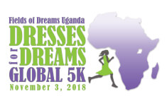 Indianapolis Dresses for Dreams Global 5K registration logo