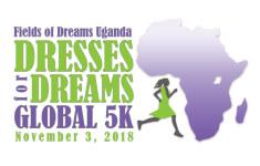 Indianapolis Dresses for Dreams Global 5K registration logo