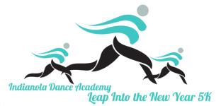 Indianola Dance Academy Leap Into the New Year 5K registration logo