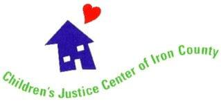 Iron County Children's Justice Center Fun Run 5k registration logo