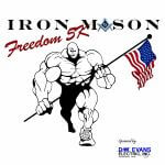 Iron Mason Freedom 5K registration logo
