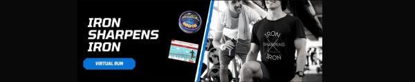 Iron Sharpens Iron Virtual Race registration logo