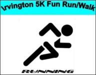 IRVINGTON 5K FUN RUN/WALK registration logo