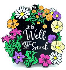 It Is Well With My Soul 1M 5K 10K 13.1 26.2 registration logo