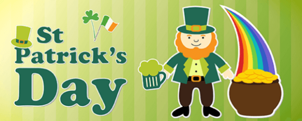 ITS ALL ABOUT ST. PATRICK'S DAY registration logo