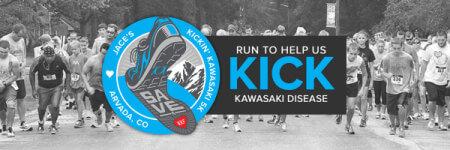 Jace's Kickin' Kawasaki 5K - Arvada, CO registration logo